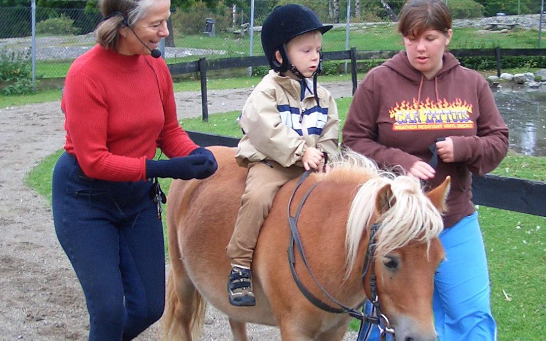 Siste rideskoledag for terapien