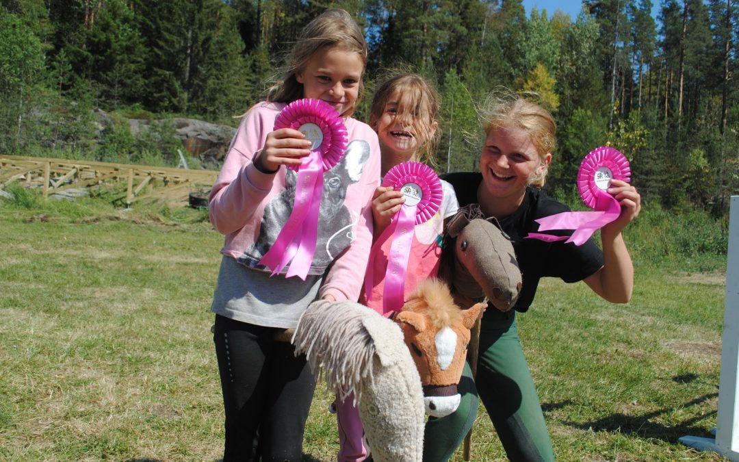 Kjepphestkonkurranse for EKT Rideskole sine elever!